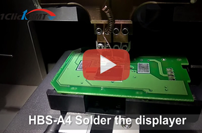 HBS-A4 Solder the displayer